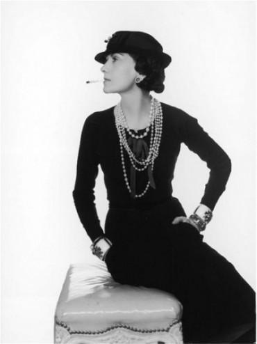 Krásná Coco Chanel.