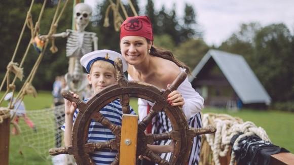 Jana Doleželová účastnila rekondičního tábora pro děti s hemofilickým onemocněním. Foto: Archiv J. Doležalové.