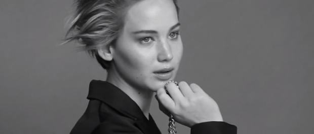 Jennifer Lawrence v kampani pro Dior.