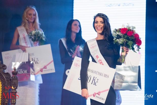 III. Česko-Slovenská Miss Barbora Fenclová. Foto: Facebook Česko-Slovenská MISS.