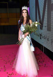 Natálie Myslíková na soutěži Miss Face 2015.