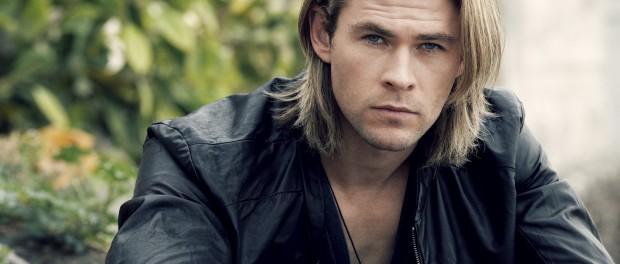 Loňský vítěz Chris Hemsworth.