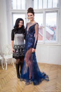 Nikol s Terezou Sabáčkovou. Foto: Česká Miss.