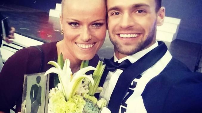 Jakub se pochlubil nejen s oceněním, ale i s krásnou přítelkyní. Foto: Instagram J. Krause.
