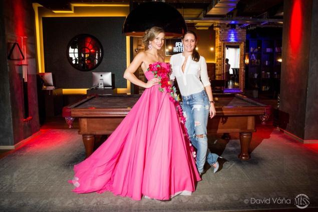 Karolína Mališová a Dominika Sedláčková. Foto: David Váňa.