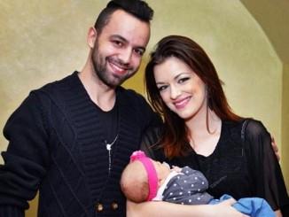 Jitka Boho s manželem a dcerou. Foto: Instagram J. Boho.