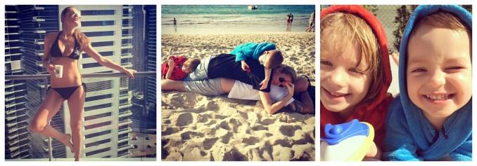 Simona Krainová si užívá dovolenou s rodinou. Foto (3x): Facebook S. Krainové.