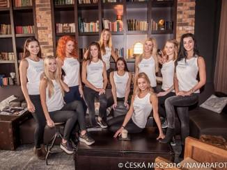 Finalistky České Miss 2016. Foto: Lukáš Navara.