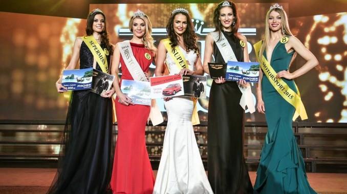 Vítezky soutěže (zleva): Paulína Pélyová, Saskie Olašáková, Lenka Čepáková, Monika Krpálková a Denisa Rosinská. Foto: Tomáš Vavřinec.