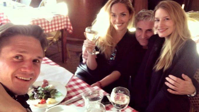 Taťána Kuchařová se v NY sešla s kamarádkou Lindou Vojtovou. Foto: Instagram L. Vojtové.