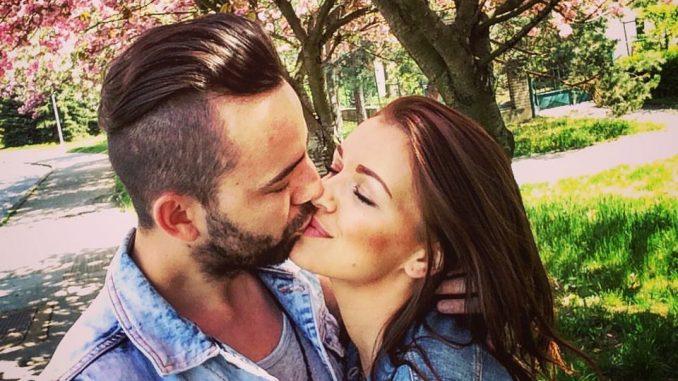 Jitka s manželem Lukáše. Foto: Facebook J. Boho.