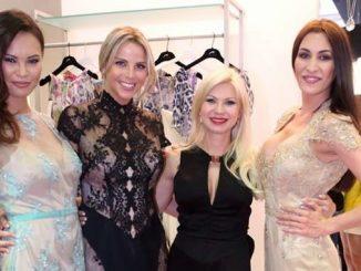 Monika Leová, Kateřina Malá, Natali Ruden a Nikola Dotková (zleva). Foto: Facebook N. Ruden.
