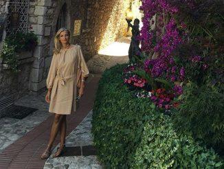 Modelka se pochlubila fotografií z Provence. Foto: Instagram T. Maxové.