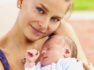 Hana s prvorozeným synem. Foto: Mattoni.