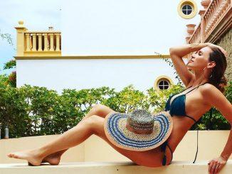 Andrea Verešová na Kanárských ostrovech, zdroj: facebook Andrey Verešové