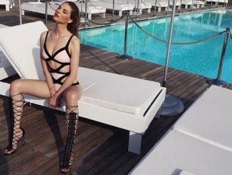 Modelka Pavlína Němcová ukazuje své krásné tělo v plavkách, zdroj: Grade