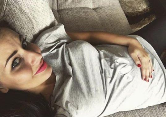 Tereza Chlebovská v 6. měsíci těhotenství, zdroj: Instagram T. Chlebovské