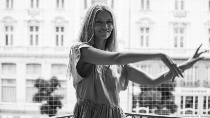 Topmodelka Linda Vojtová. Foto: Adriana Fialová.