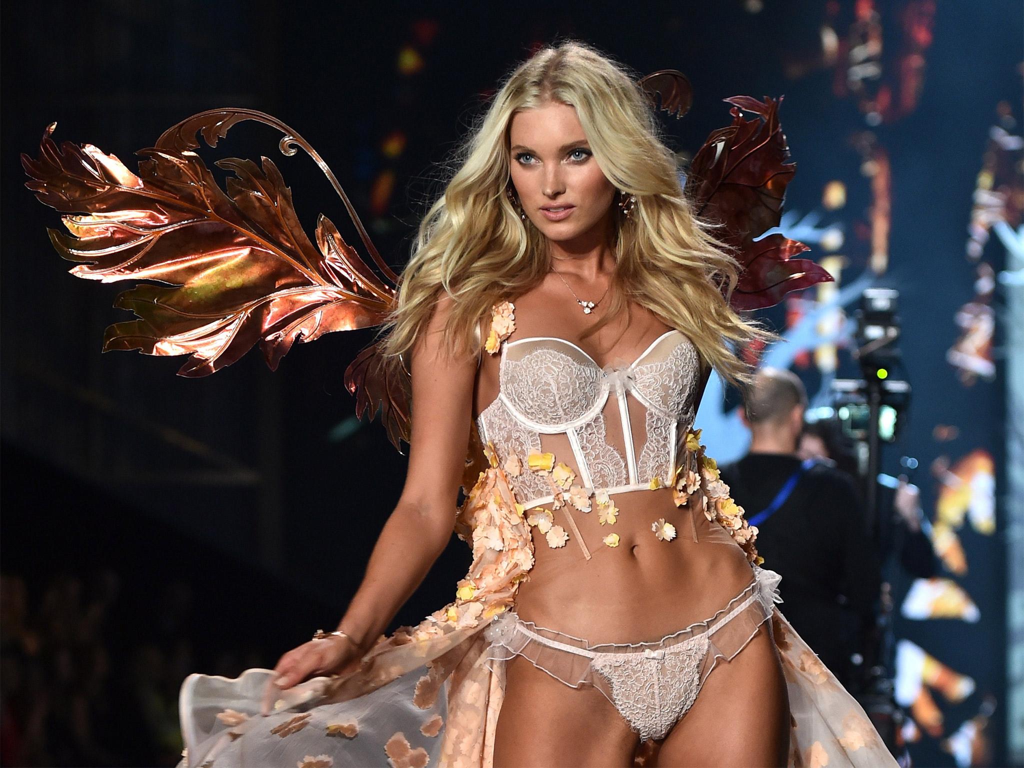 Oblíbená švédská modelka Elsa Hosk, zdroj: Victoria's Secret
