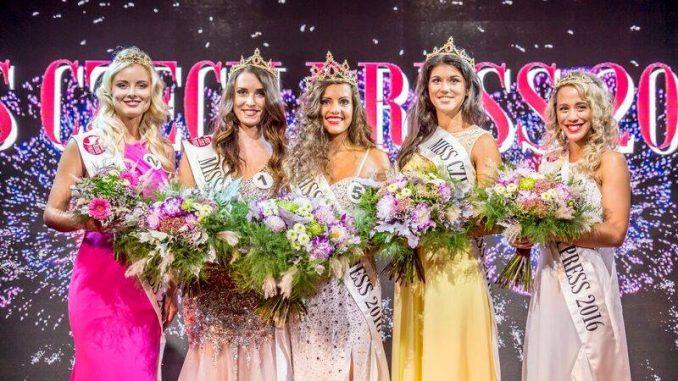 Letošní vítězky soutěže. Foto: Faceboo Miss Czech Press.