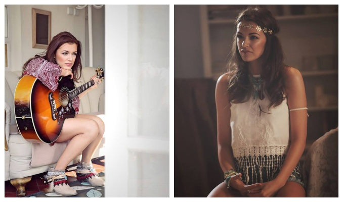 Modelka v novém videoklipu doslova září spokojeností. Foto: Facebook J. Boho.