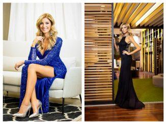 Šaty si modelka vybrala i v salonu Le Monika, zdroj: M. Šebesta