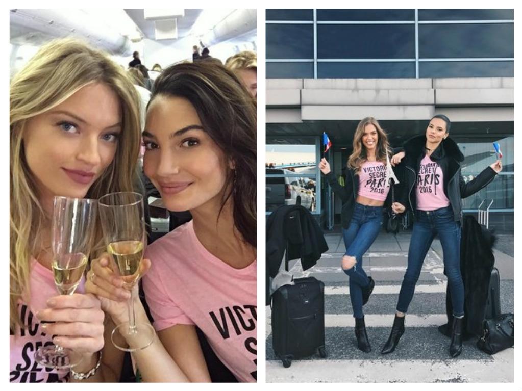 Andílci VS při cestě do Paříže, zdroj: Victoria's Secret