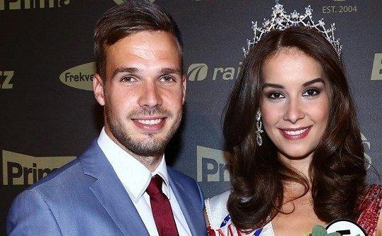 Nikola s přítelem tvoří pár již od dob Miss. Foto: Česká Miss.