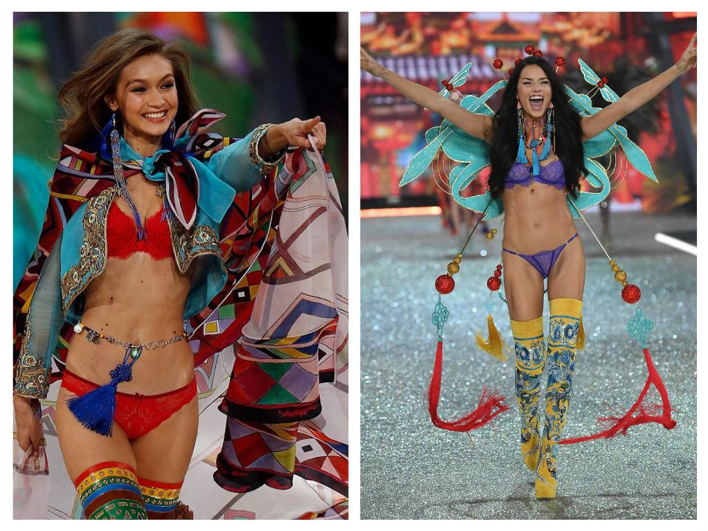 Část hvězdné přehlídky se nesla v pompézních barvách, zdroj: Victoria's Secret