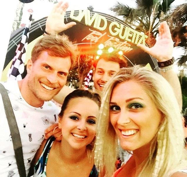 Moderátoři Evropy 2 před koncertem D. Guetty. Foto: Instagram Z. Hejdové.