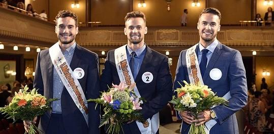 Muži roku 2015 zleva Jan Vurm (3. místo), Jakub Kraus (1. místo) a Tomáš Martinka (2. místo). Foto: Michaela Feuereislová.