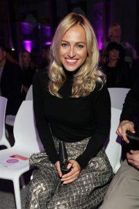 Mezi VIP hosty byla i modelka Renata Langmannová. Foto: UNIQUE FASHION WEEK.