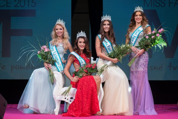 Vítězky Miss Face 2015. Foto: Facebook Miss Face.
