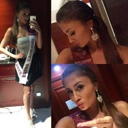 Natálie si Miss Tourism Queen International očividně užívá. Foto: Instagram N. Myslíkové.