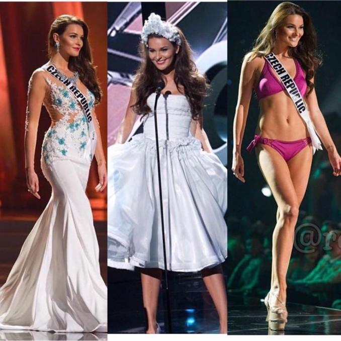 Nikol během Preliminary Show rozdávala úsměvy do všech stran. Foto: Miss Universe.