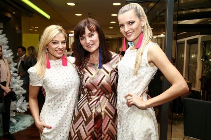 Eva Perkausová, Beata Rajská a Veronika Procházková. Foto: Herminapress.