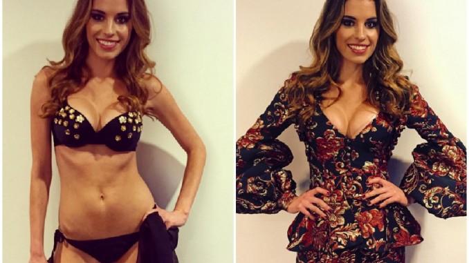 Tereza Budková se na svém Instagramu pochlubila, co hezkého si na přehlídku obleče. Foto: Instagram T. Budkové.
