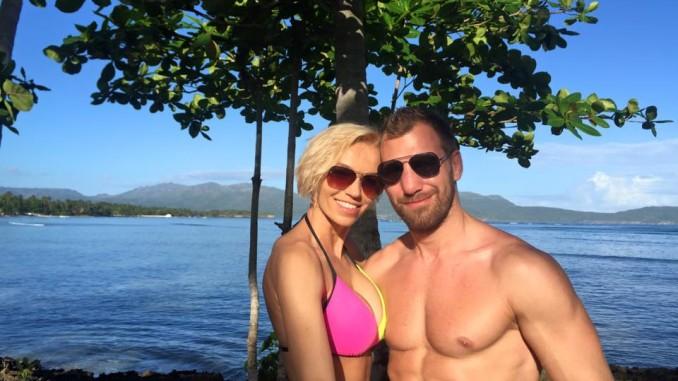 Hanka Mašlíková a André Reunders tvoří moc hezký pár. Foto: Facebook H. Mašlíkové.