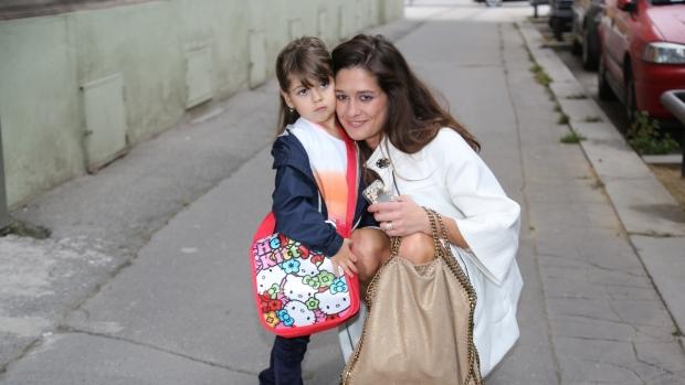 Modelka má z prvního manželství dceru Adrianu. Foto: Archiv P. Faltýnové.