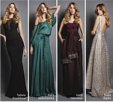 Tyto šaty se dražily. Foto: Bazar charity.