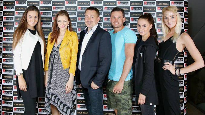 V porotě castingu Look Bella zasedla kromě Jitky Boho (2. zleva) také poslední vítězka soutěže Martkéta Konopásková (zcela vlevo). Foto: Arthur Koff.