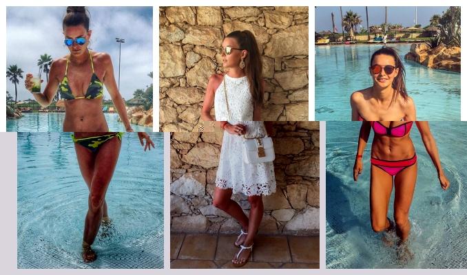 Nikol Švantnerová během své dovolené v Maroku. Foto: Instagram N. Švantnerové.