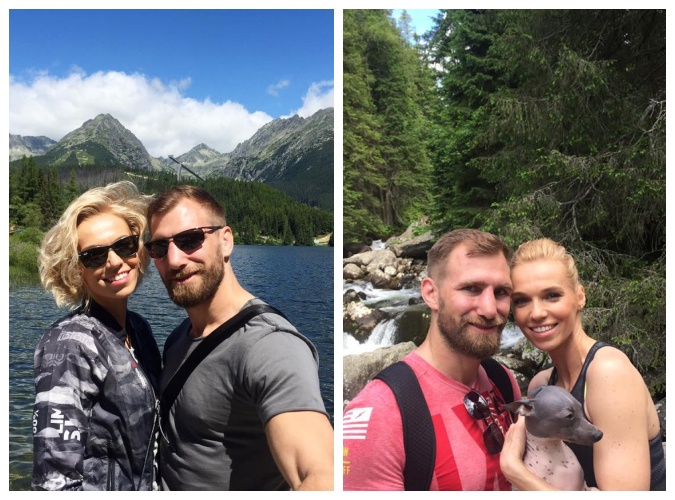 Hanka si užívá dovolenou po boku svého snoubence. Foto: Facebook H. Mašlíkové.
