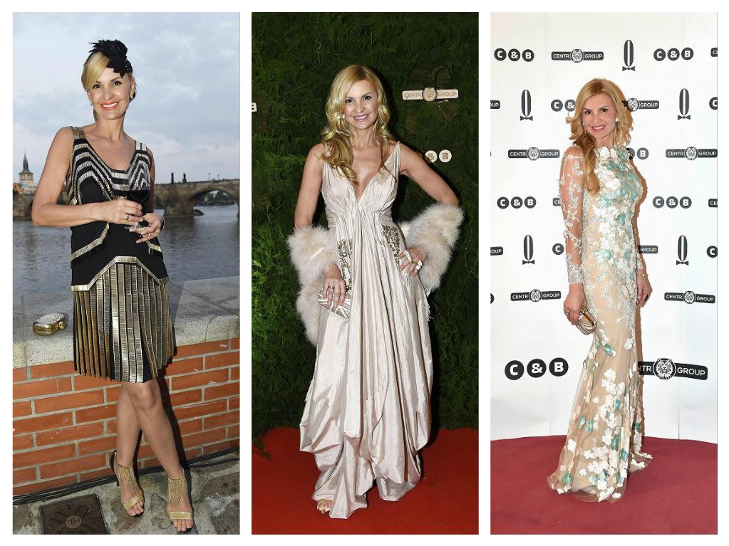Okouzlující Tamara v modelech značky Gucci, Dior a Alfredo Villalbo, zdroj: foto M. Feuereislová