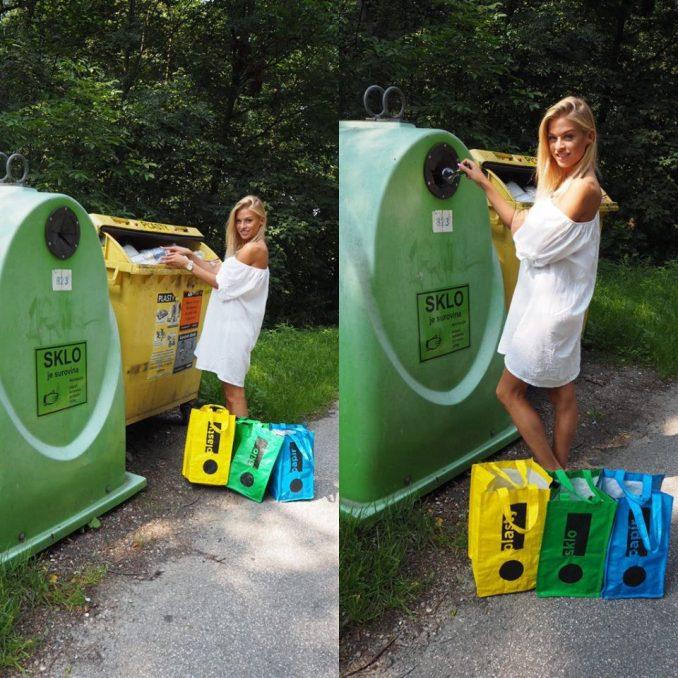 Kristýna to se záchranou životního prostředí myslí vážně. Foto: Miss Earth.