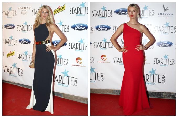 Tereza Maxová a Karolína Kurková. Foto: Starlite Gala.