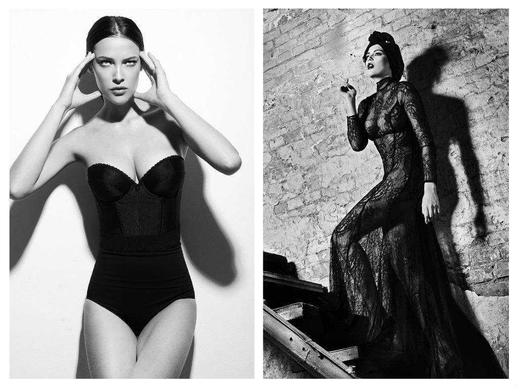 Modelka se chlubí dokonalým tělem, zdroj: archiv. K. Sokolové
